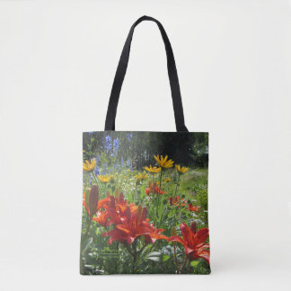Colorful Early Summer Gardens! Tote Bag