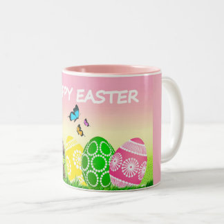 Colorful Easter Decorative Coffee Mug