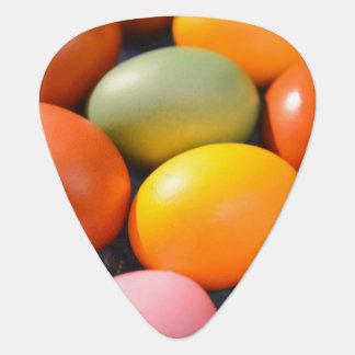 Colorful Easter Eggs Custom Photo Guitar Pick