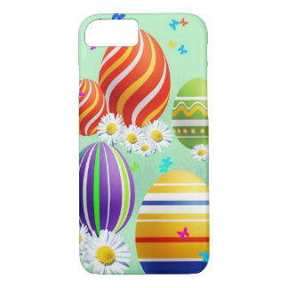 Colorful Easter Eggs iPhone 7 Case