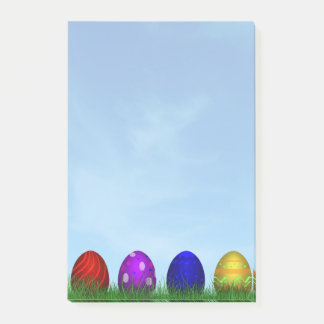 Colorful Easter Eggs - Post-it® Notes
