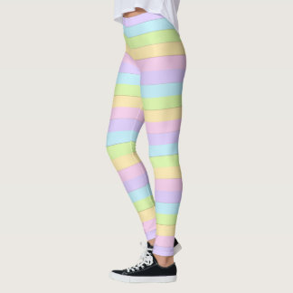 Colorful Easter Pastel Leggings
