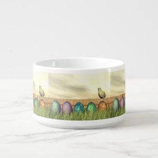 Colorful eggs for easter - 3D render Bowl