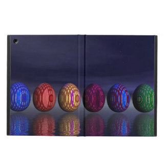 Colorful eggs for easter - 3D render Case For iPad Air