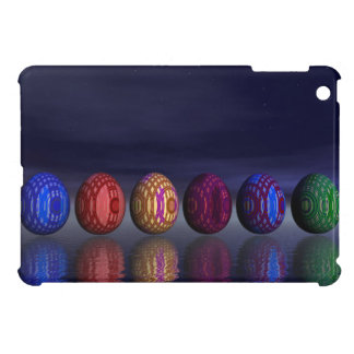 Colorful eggs for easter - 3D render iPad Mini Case