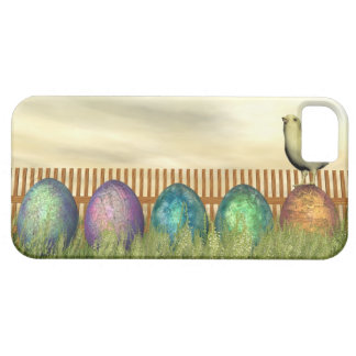 Colorful eggs for easter - 3D render iPhone 5 Case