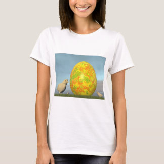 Colorful eggs for easter - 3D render T-Shirt