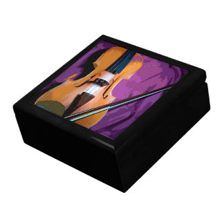Colorful elegant purple tile gift box - Viola