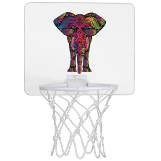 Colorful elephant cartoon mini basketball hoop