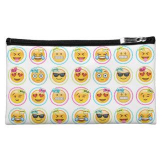 Colorful Emoji Cosmetics Bag Makeup Bags