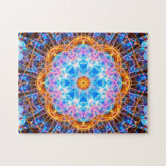 Colorful Energy Mandala | Relaxing Jigsaw Puzzle