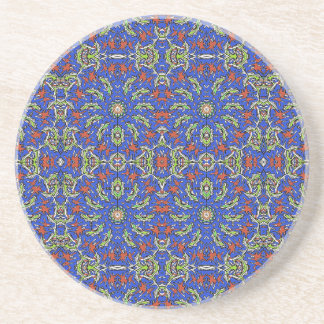 Colorful Ethnic Design Beverage Coasters