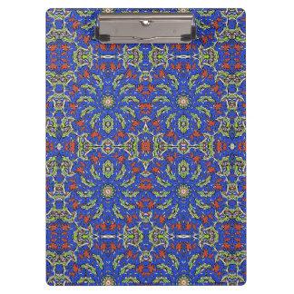Colorful Ethnic Design Clipboard