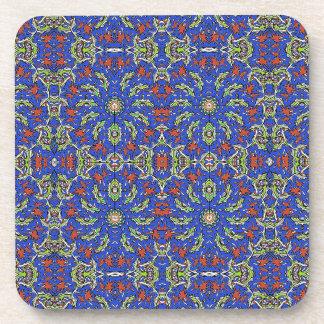 Colorful Ethnic Design Drink Coaster