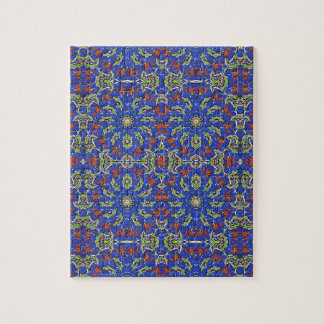 Colorful Ethnic Design Jigsaw Puzzle