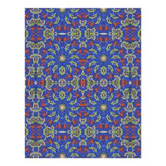 Colorful Ethnic Design Letterhead