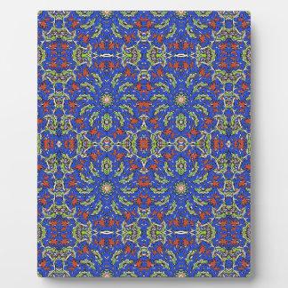 Colorful Ethnic Design Plaque