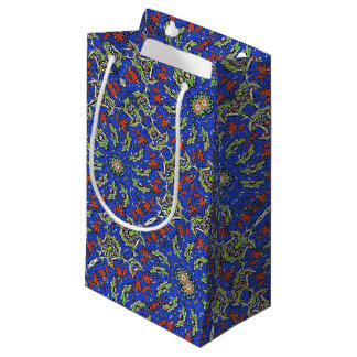 Colorful Ethnic Design Small Gift Bag