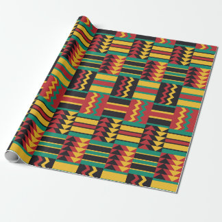 Colorful Ethnic Pattern Wrapping Paper