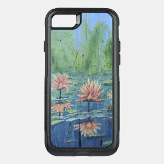 Colorful Exciting Peach Lilies iPhone Case