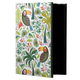 Colorful Exotic Birds And Flowers Pattern Powis iPad Air 2 Case