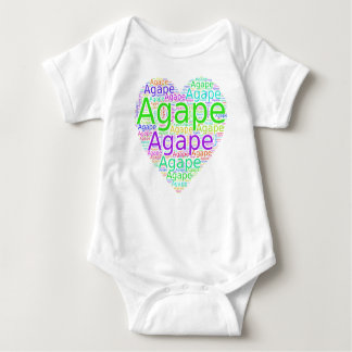 Colorful Expressions of God's Love Baby Bodysuit