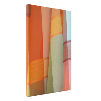 Colorful Fabric Stretched Canvas Prints