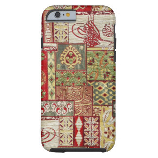 Colorful fabric tough iPhone 6 case
