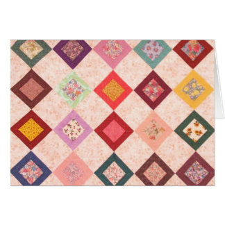 Colorful Fabrics Pattern Card