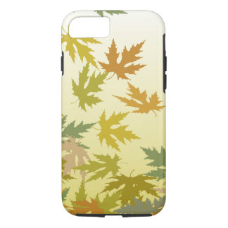 Colorful Falling Autumn Leaves iPhone 8/7 Case