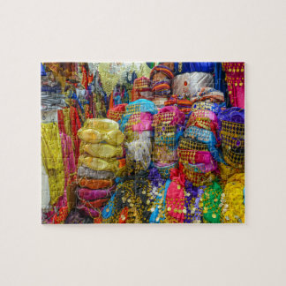 Colorful Fez Hats and Slippers Clothing Jigsaw Puzzle