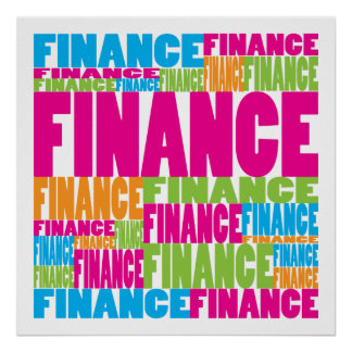 Colorful Finance Poster