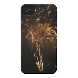 Colorful fireworks of various colors in the night Case-Mate iPhone 4 case