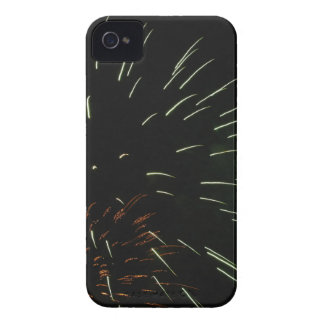 Colorful fireworks of various colors in the night iPhone 4 Case-Mate case