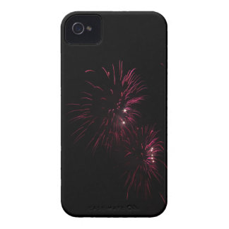 Colorful fireworks of various colors in the night iPhone 4 cover