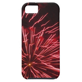 Colorful fireworks of various colors in the night iPhone 5 cover