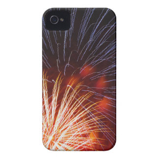 Colorful fireworks of various colors iPhone 4 Case-Mate cases