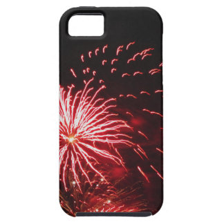 Colorful fireworks of various colors iPhone 5 case