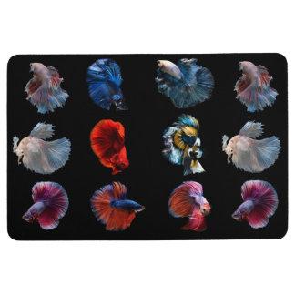 Colorful Fish floor mat