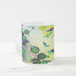 Colorful Fish Pond Mug