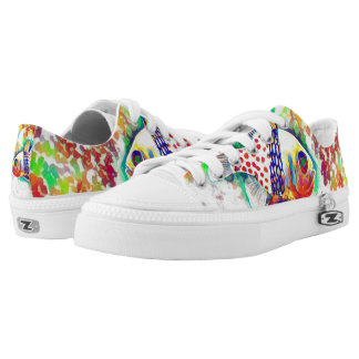 Colorful Fish theme Shoes