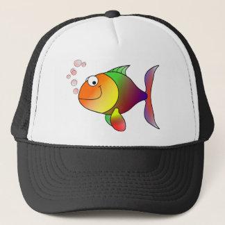 Colorful Fish Trucker Hat