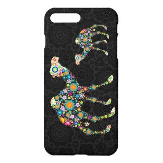 Colorful Floral Camel Illustration iPhone 8 Plus/7 Plus Case