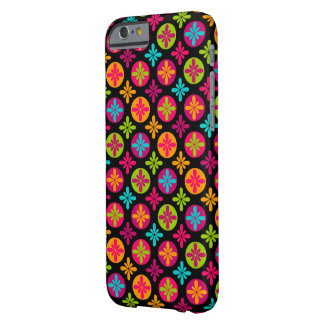 Colorful Floral Circle Pattern Barely There iPhone 6 Case