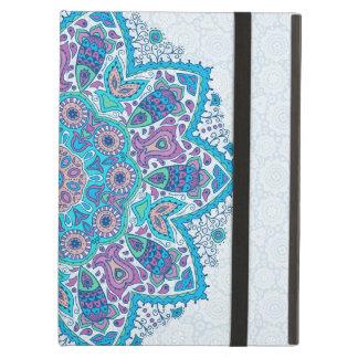 Colorful floral Geometric Mandala Cover For iPad Air