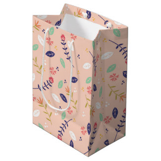 Colorful Floral Gift Bag