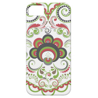 Colorful Floral Heart Case For The iPhone 5