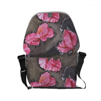Colorful Floral Messenger bag – Original Design
