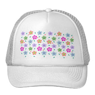 Colorful Floral pattern Hats