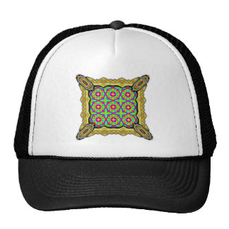 Colorful Floral Pattern Small Hats